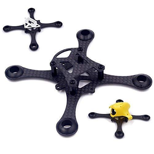 Ellenbogenorthese-LQ RC parti di ricambio 2 pezzi fai da te micro fpv rc quadcopter 100 millimetri spazzolato telaio kit supporto 8520 Coreless motore