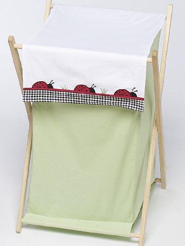 JoJo Designs Baby and Kids Clothes Laundry Hamper - Ladybug Parade