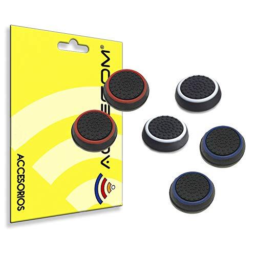 actecom 3 Pares Funda de Goma Compatible con Joystick Mando Sony Playstation...