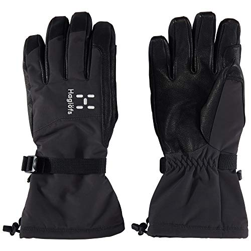Haglöfs Niva Handschuhe, Unisex, Erwachsene L Schwarz (True Black/Slate)