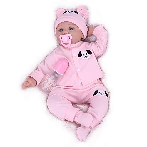 Kaydora Newborn Baby Doll Reborn Girl, 22 inch Realistic Weighted Baby Doll