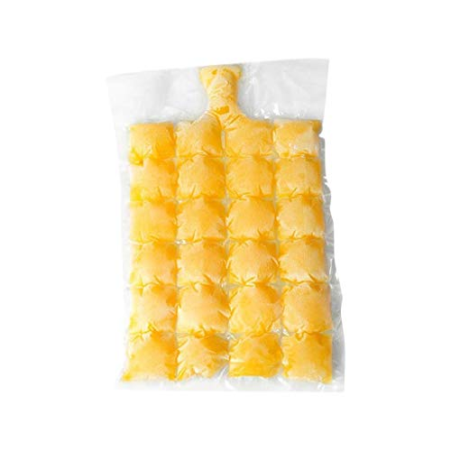 95sCloud 10PCS /24 Grids Eiswürfelbeutel für Eiswürfel Beutel, Selbstverschluss, Eiszubereitung Ice Cube Taschen für Kaltgetränke Party, kühle Getränke, Caipirinha, Eiskugeln, Eiskugelbeutel