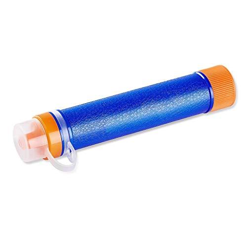 WPCBAA Waterfilter Rietje met 1500L 3-Stage Filtratie, 0.01 Micron, Persoonlijke Mini Purifier Overlevingsuitrusting voor Wandelen, Camping, Reizen, Noodsituatie