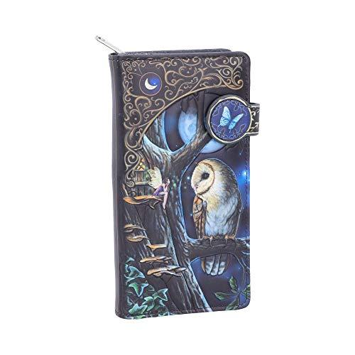 Nemesis Now Fairy Tales Geldbörse, geprägt, 18,5 cm, Schwarz, Einheitsgröße