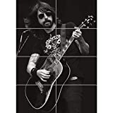 DAVE GROHL FOO FIGHTERS GIANT WALL ART PRINT POSTER PLAKAT