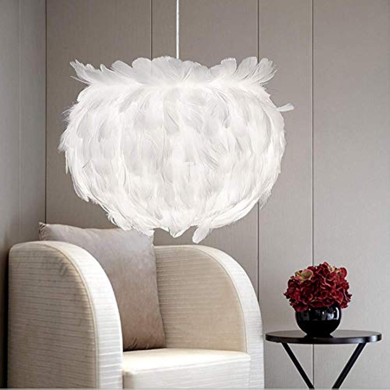 Feder Kronleuchter Modernen Minimalistischen Wohnzimmer Schlafzimmer Pendelleuchte Warme Kreative Persnlichkeit Kunst Licht Hngelampe Deckenleuchte
