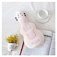 ぬいぐるみ 60cmクリエイティブシミュレーションギターぬいぐるみで家の装飾ベイビーアプリーブ人形ソフトピロークッション誕生日プレゼント 枕 (Color : Big)