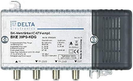 Dct Delta Bke 39 Ps Kdg Vpe 1 Hausanschlussverstärker Kdg C 4 2 1 Ghz 39 Db Rw 65 Mhz 29 Db Verstellvorrichtung Ebene Heimkino Tv Video