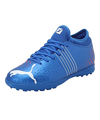 PUMA FUTURE Z 4.2 TT JR, Zapatos de Fútbol Unisex-Niños, Azul (Bluemazing), 37 EU