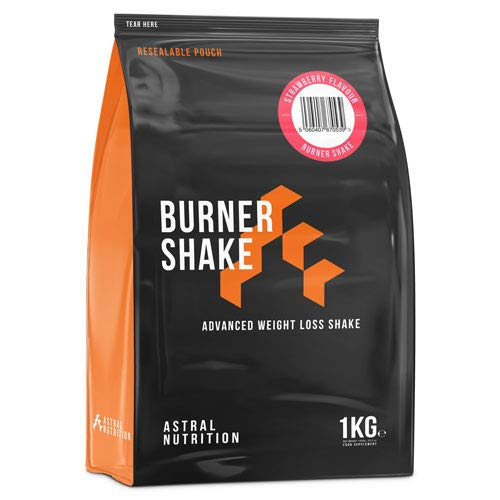 Burner Shake - 1 Month Supply Strawberry | Fat Burning Weight Loss Shake | Contributes to Metabolism | Suppresses Appetite