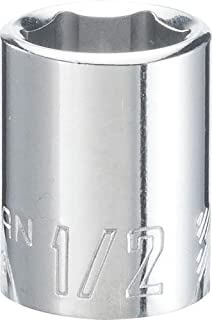 CRAFTSMAN Shallow Socket,  SAE,  3/8-Inch Drive,  1/2-Inch,  6-Point (CMMT43003)