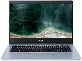 "Acer Chromebook 314, laptop z ekranem dotykowym 14 ""Full-HD IPS (Intel Celeron N4100, 4 GB RAM, 32 GB eMMC, UMA, Chrome..."