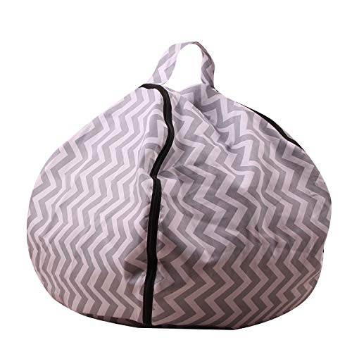 Kids Stuffed Animal Bean Bag Chairs Camo, Extra Large Beanbag Chair Bean Bag Cover - 100+ Plush Toys Holder and Organizer for Kids Room -100% Cotton Canvas Cover,9,26inch