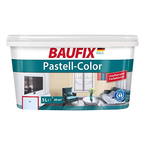 BAUFIX Pastell-Color Wand- & Deckenfarbe Sky