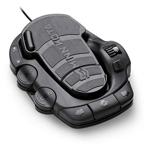 Minn Kota 1866076 Terrova BT Trolling Motor Corded Foot Pedal, Black