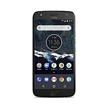 Motorola Moto X4 Android One Edition Factory Unlocked Phone - 5.2inch Screen - 32GB - Black  U.S Warranty