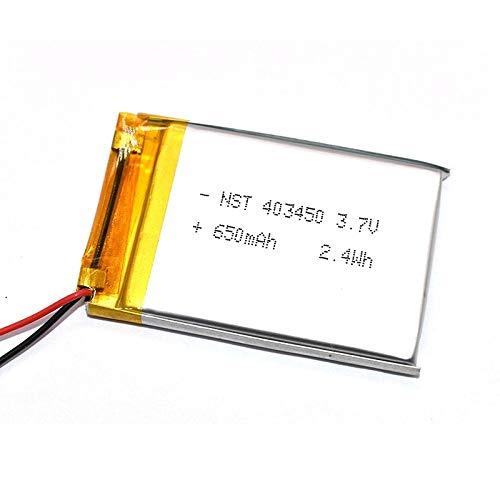 Dilezhiwanjuwu 403450 3.7 V 680 mAh Batteria agli ioni di Litio polimerica/Li-Ion per GPS mp3 mp4 mp5 Dvd
