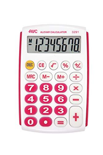 Calcolatrice AVC 8 Cifre, Rosa