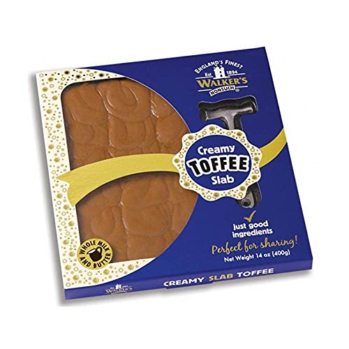 Walker\'s Traditional Slab Toffee Original 400g