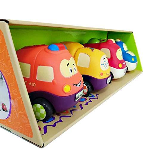 Rain City 2019 Cartoon Tirez Trolley Jouets éducatifs pour Enfants 4 Sets adaptée pour Les bébés de Plus de 3 Ans