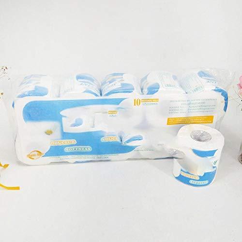 1Rool Huishoudelijke rollen Toiletpapier Bulkrol Badweefsel Badkamer Wit weefsel Soft Professional Series Premium 3-laags, China
