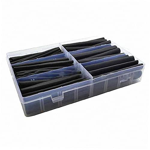 [Benodigdheden] Warmte Krimp Tubing Kit Dual Wall Adhesive Electric Isolatiebuis Diverse Mouwen Wrap Kabel 130pcs