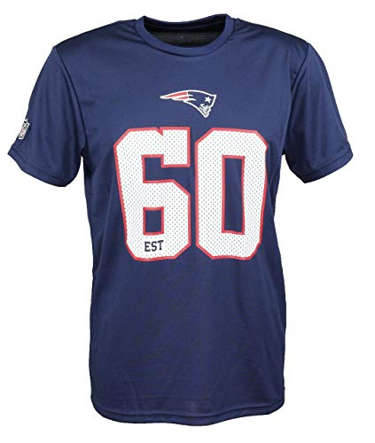 New Era NFL New England Patriots Supporters T-Shirt Herren blau/weiß, XXXL
