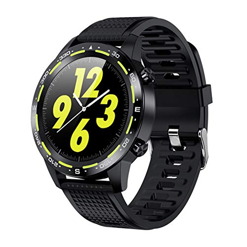 VBF Smart Watch, Nueva Llamada Bluetooth L12ECG + PPG IP68 Presión Arterial Impermeable A Prueba De Agua Pulsera Deportiva Smartwatch Deportes para Android iOS,D