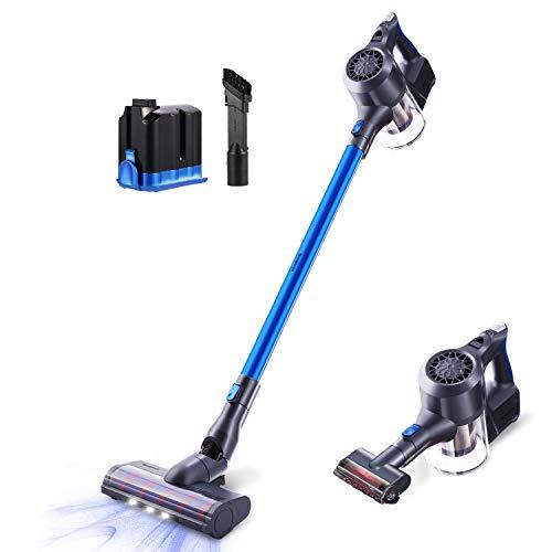 Great Price! Cordless Vacuum Cleaner 22KPa Powerful Suction Stick Vacuum Handheld Versitile Vacuum M...