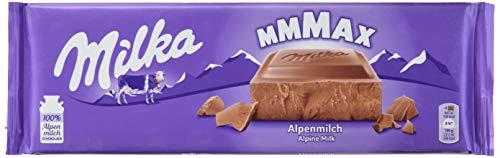 Milka Alpenmilch - Klassische zartschmelzende Schokoladentafel aus Alpenmilch - Großtafel - 5 x 270g