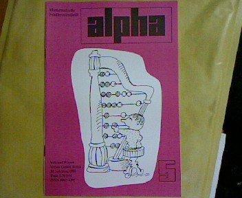 J. Heller: Gardinen für ein Blumenfenster - rationell zugeschnitten, in: ALPHA - Mathematische Schülerzeitschrift. 24. Jhg., Heft 5 - 1990