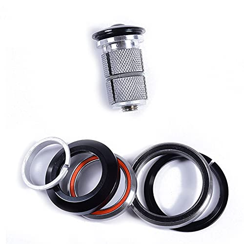2Bird Bike Headset 1-1/8'-1-1/2' For Frame Headset Tapered MTB Or Road Bicycle Headset Top Cap Bicycle Accessories
