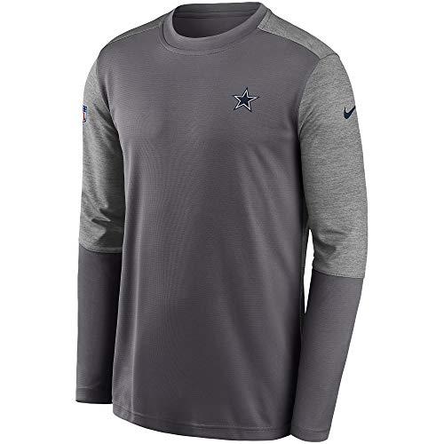 Dallas Cowboys Nike Coaches - Pantalón corto para hombre - 200910006, Nike Coaches Short, M, Azul/gris