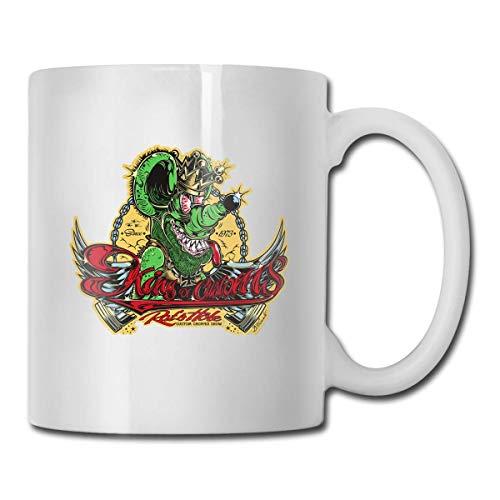 haoqianyanbaihuodian Rat Fink - Taza de café con diseño de oficina