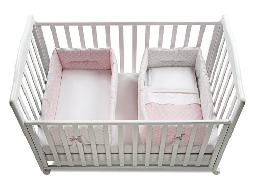 Italbaby Gemmy - Reductor de cuna, color rosa