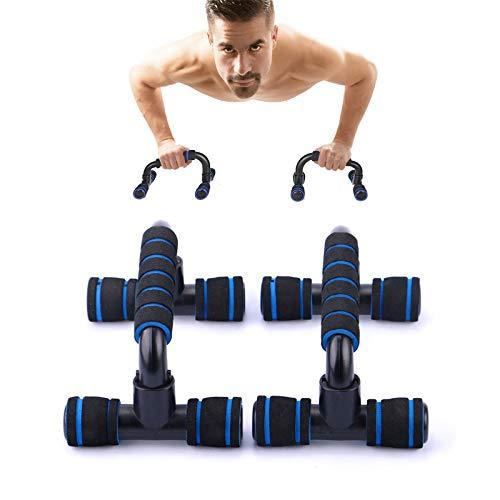 Push up Bars Stand, Soporte para Flexiones,Skid-Resistant Mango de Espuma,Bueno para Tu Entrenamiento Muscular,Gimnasio en casa Ejercicio Rutina de Ejercicio Formación