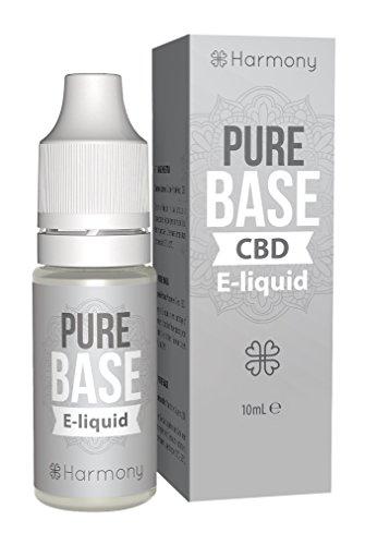 Harmony CBD E-Liquid (über 99{9199d7b5198f6d5df781e1c8462608800928aae99d90960b2befbf4d6e57400e} Reinheit) - Pure Base - 1000mg CBD in 10 ml - nikotinfrei