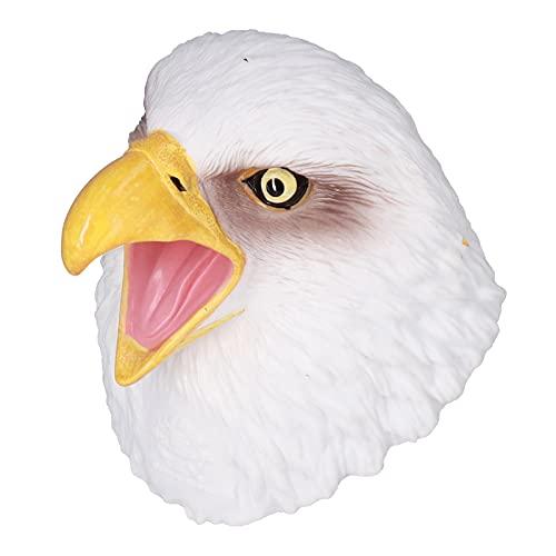 Juguetes De Marionetas De Mano, Elegantes Marionetas De Mano De águila Blanca Resistentes para Parodias De Fiestas para Decoraciones De Halloween