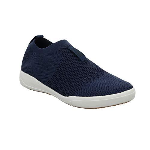 Josef Seibel 68864 Sina 64 Damen Slip-On Sneaker,Halbschuh,Sportschuh,Slipper,Gummizug,atmungsaktiv,blau,43 EU