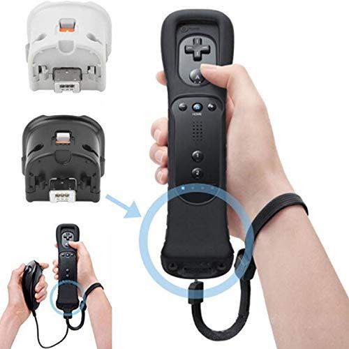 SunshineFace Sensore di Movimento Remoto Più Adattatore Controller + Custodia in Silicone per Nintendo Wii