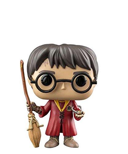 Funko Pop! Harry Potter – Figura de Harry Potter en Quidditch Outfit #08 de vinilo de 10 cm