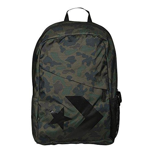 Converse Mochila Backpack para mujer Star Chevron Camo negro verde