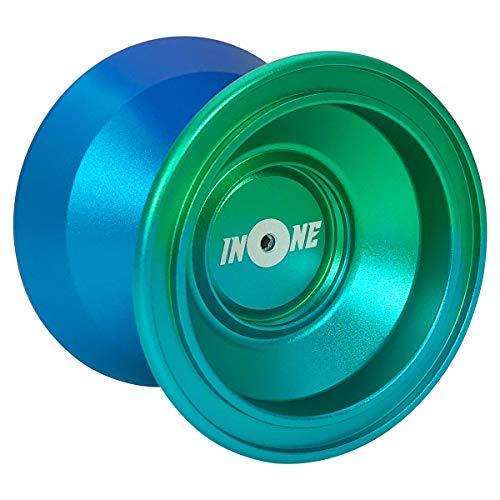 INONE Aurora Yoyo Non Responsive Yo-yos Aluminum Alloy Metal Unresponsive Yoyos