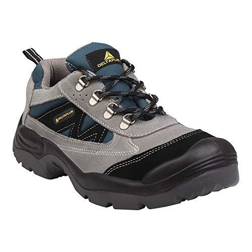Delta plus calzado - Zapato serraje nylon horma ancha poliuretano 2d -s1p talla 43
