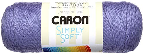 Caron Simply Soft Yarn Solids (3-Pack) Lavender Blue H97003-9756