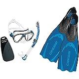 Cressi Big Eyes Evolution & Alpha Ultra Dry Schnorchel Pack de Snorkel...