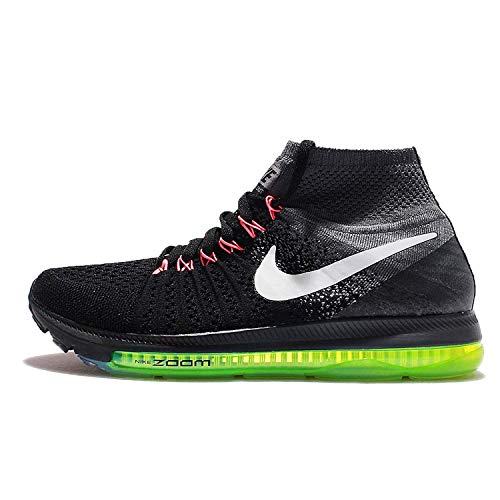 Nike 845361-002, Scarpe da Trail Running Donna, Nero/Bianco/Grigio Freddo/Giallo Fluo, 38.5 EU
