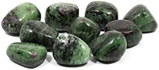 CristalAge - Rubí zoisita, piedra pulida (20 – 25 mm)