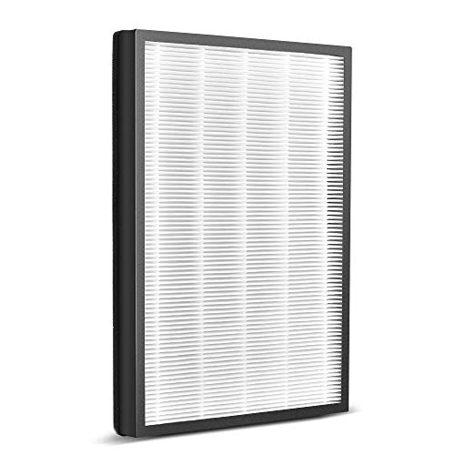 Air Purifier Filter - 3-in-1 True HEPA Air Purifier Filter, Reduce Pet Dander, Household Odor, Smoke & Dust, Perfect for Home & Office