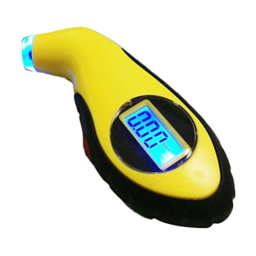 Preisvergleich Produktbild PIXNOR LCD Digital Auto Motorrad Druck Reifendruck Messgerät Prüfgerät